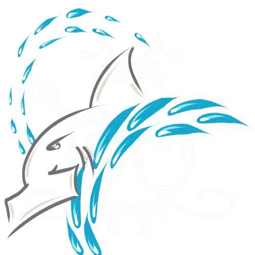 Shark w water Sample JPEG 6x6 300dpi
