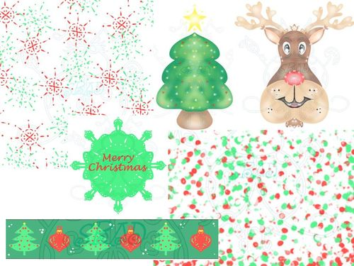Christmas Scrapbooking Kit Display JPEG